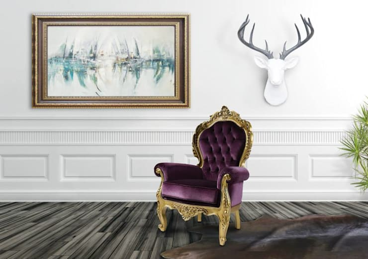 Charme Armchair: Sala de estar  por Durius_ConceptDesign