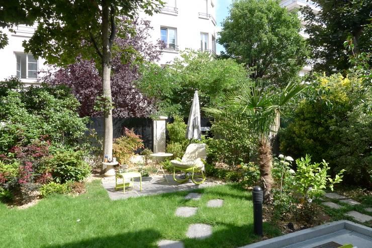 Projekty,  Ogród zaprojektowane przez Benji Paysage