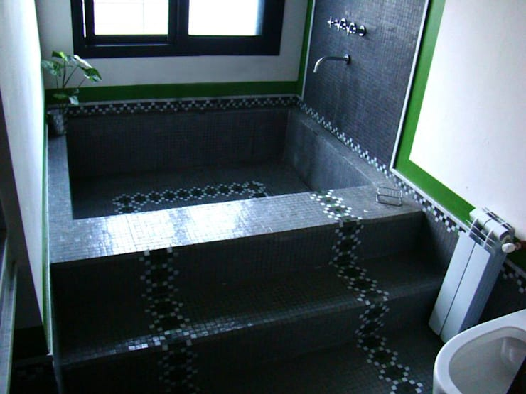 BAÑOS LN: Baños de estilo moderno por LN-arquitectura