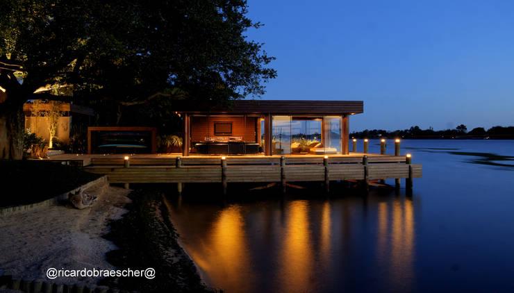 Casas de estilo rústico por BRAESCHER FOTOGRAFIA