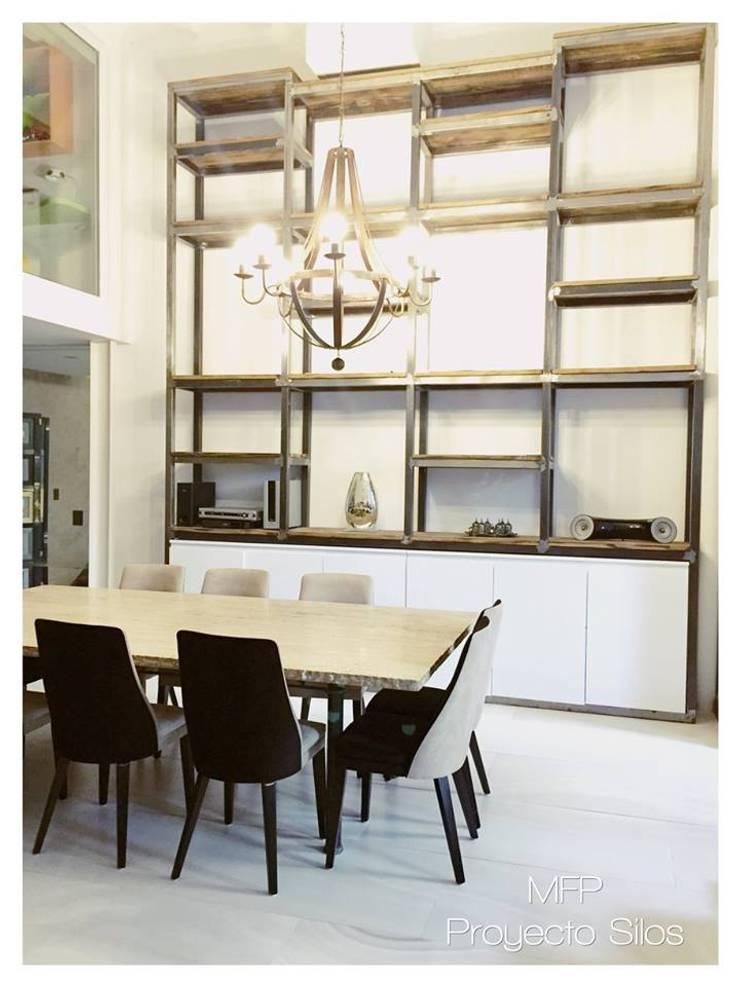 Obra Los Silos: Comedores de estilo  por MFP Diseño de Interiores