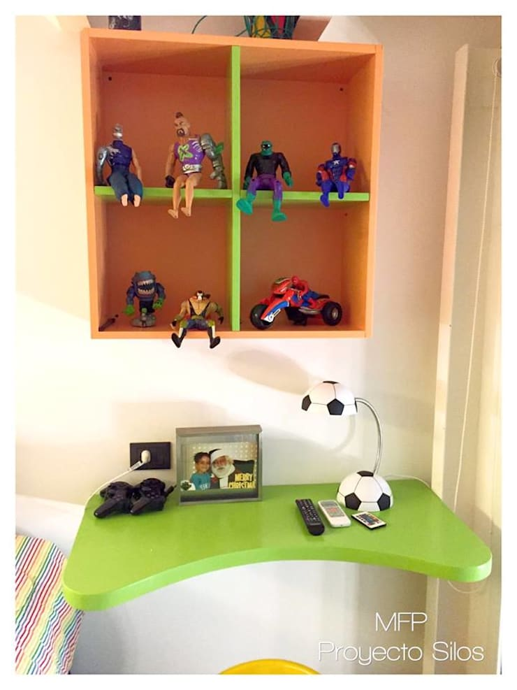 Obra Los Silos: Dormitorios infantiles de estilo  por MFP Diseño de Interiores