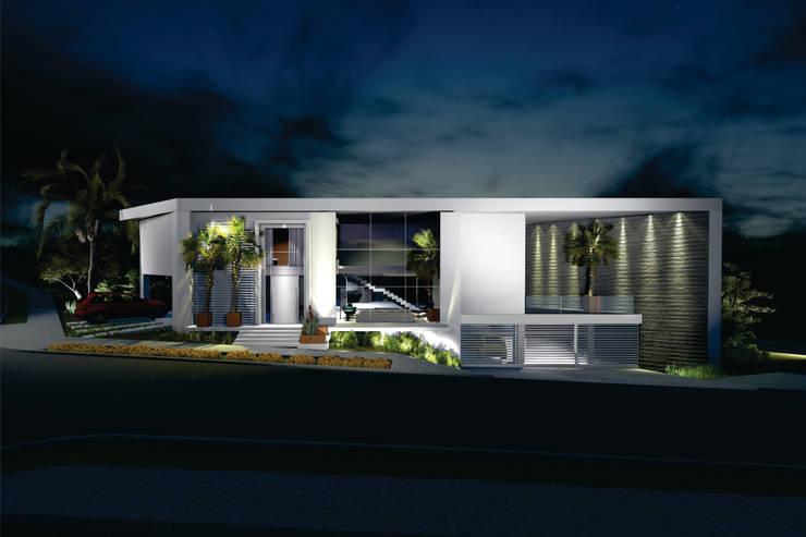Casa CL: Casas  por Renata Matos Arquitetura & Business