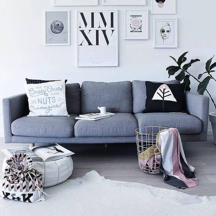 Cojines colecccion 14/15: Hogar de estilo  por Blanco
