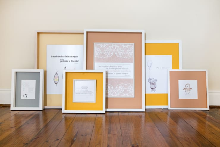Quadros Loloca: Casa  por Loloca Design