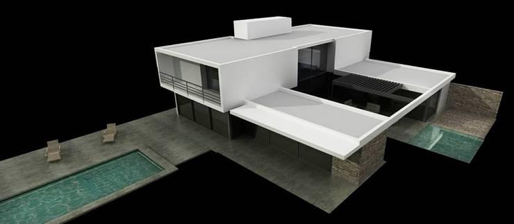 Vivienda en La Cascada de Oviedo Serrano Arquitectos Moderno