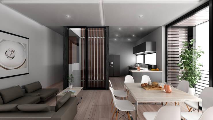 Amplitud: Hoteles de estilo  por Viztudio