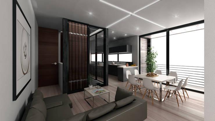 Terraza: Hoteles de estilo  por Viztudio