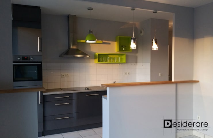 """""""Appartement 7 bis"""": Cuisine de style de style Moderne par DESIDERARE"""