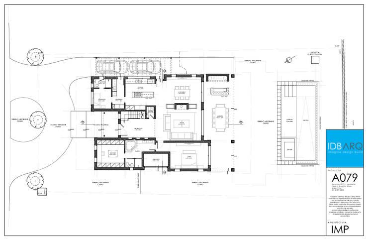 Casas de estilo  por IDB ARQ