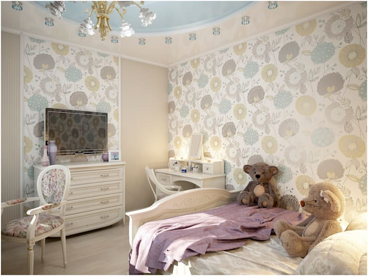 Дизайн-проект квартиры: Детские комнаты в . Автор – Artstyle