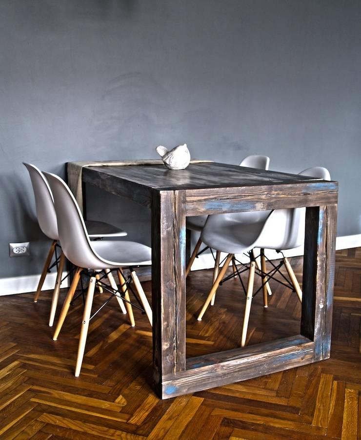 Stół Drewniany: styl , w kategorii Jadalnia zaprojektowany przez Treefabric