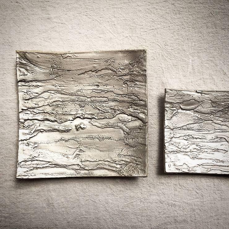 銀樹 取り皿    銀樹 小皿: Satomi nodaが手掛けたアートです。,
