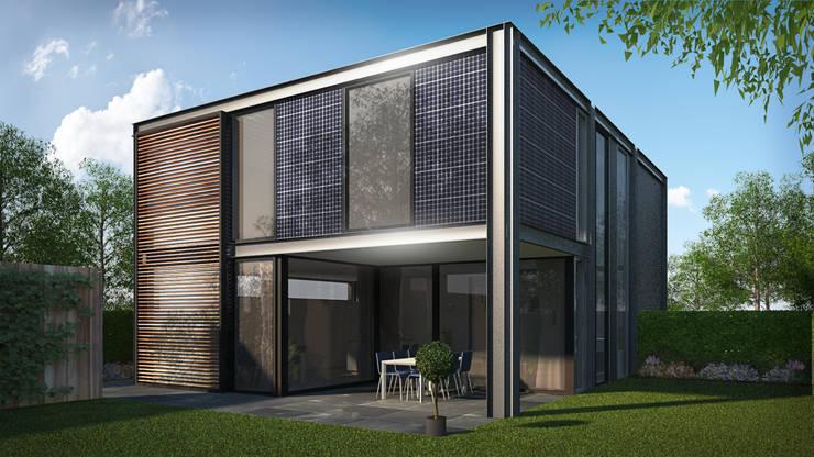 Woonhuis FRAME Eindhoven :  Huizen door 2architecten