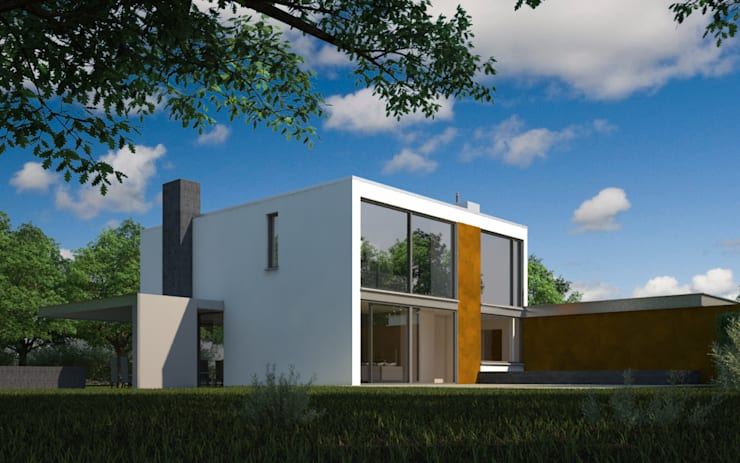 Houses by 2architecten, Modern