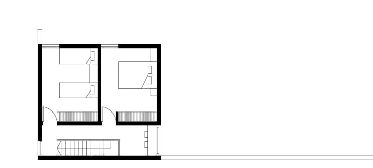Casa OM. (En Construcción):  de estilo  por En obra arquitectos,