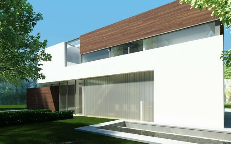 Woonhuis LVDO Eindhoven :  Huizen door 2architecten, Modern
