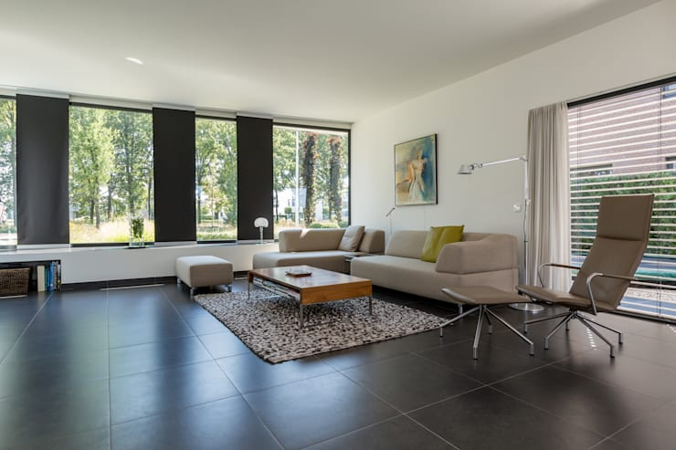 Living room by 2architecten