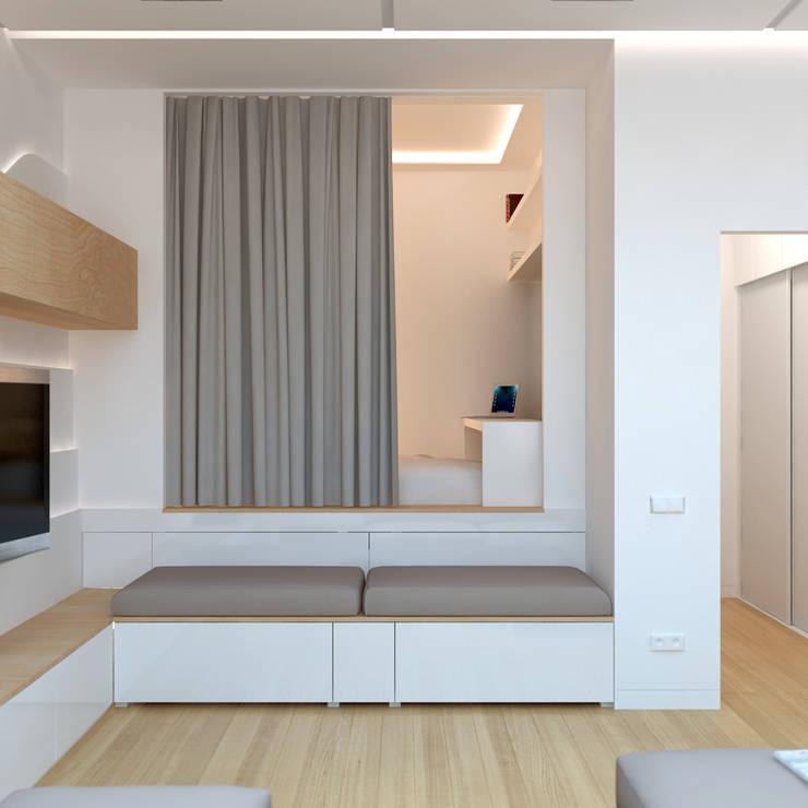 Brama Architectsが手掛けた寝室