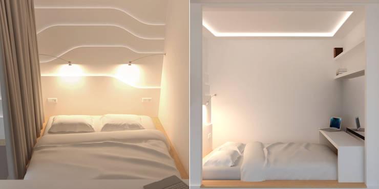 Slaapkamer door Brama Architects