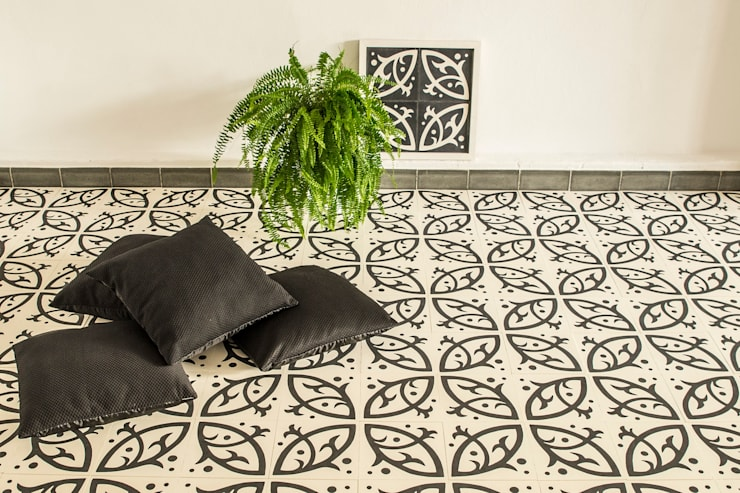 غرفة المعيشة تنفيذ Mosaic del Sur