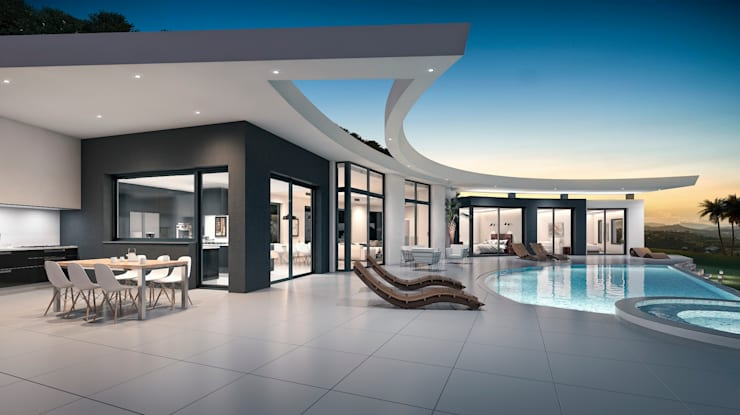Villa Siro Modern Houses by Miralbo Excellence Modern
