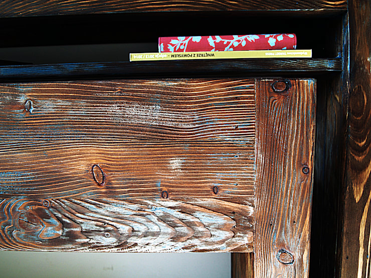 Drewniana Konsolka: styl , w kategorii Kuchnia zaprojektowany przez Treefabric,