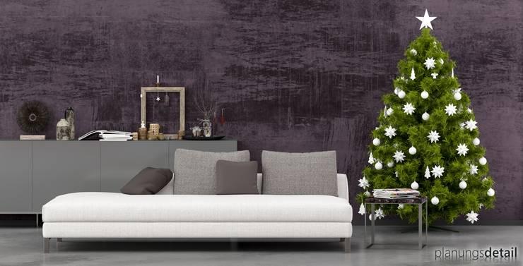 Weihnachten 1: moderne Wohnzimmer von buerowo.de UG