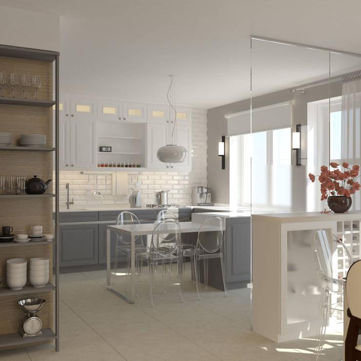 Cocinas de estilo  de Brama Architects