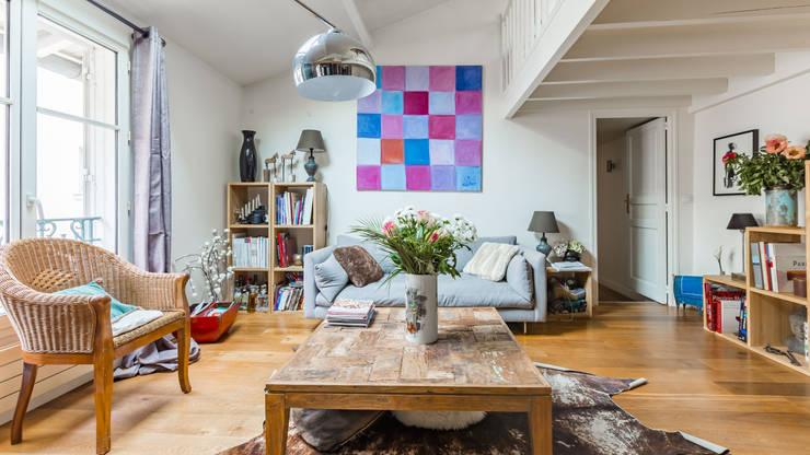 Bois: Salon de style  par PictHouse