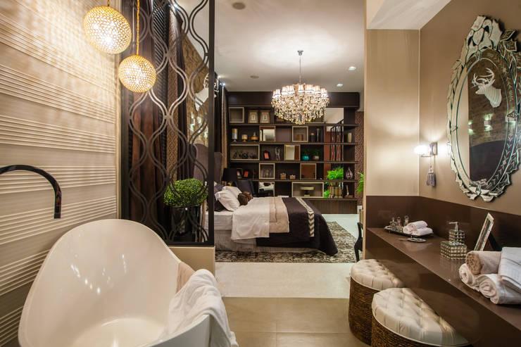 The Guest Room: Quartos  por Estúdio HL - Arquitetura e Interiores ,