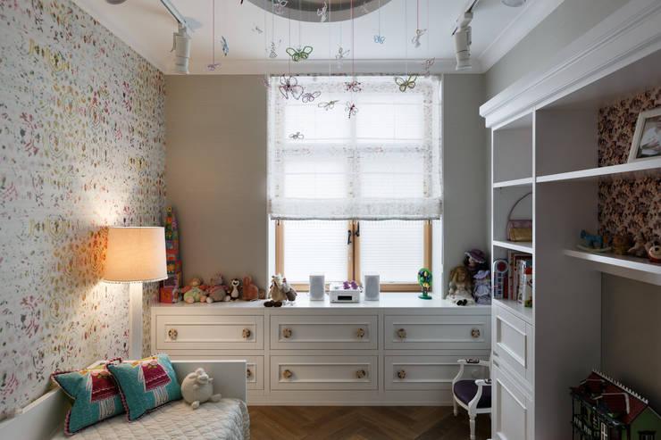 Квартира на Морском проспекте: Детские комнаты в . Автор – Юдин и Новиков