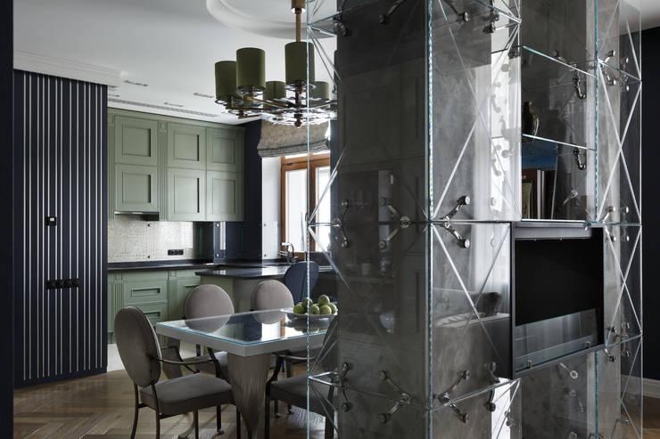 Квартира на Морском проспекте: Кухни в . Автор – Юдин и Новиков