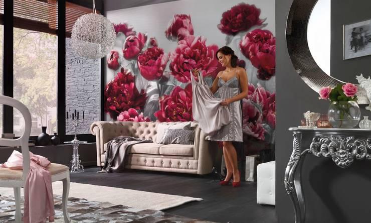 Fotomurales para decorar tu hogar: Salas de estilo  por DeColor