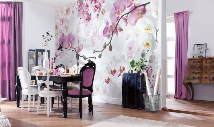 Fotomurales para decorar tu hogar: Comedores de estilo  por DeColor