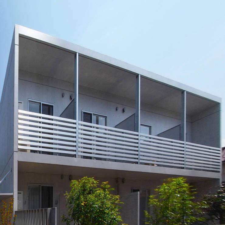 立川の賃貸マンション: ユミラ建築設計室が手掛けた家です。