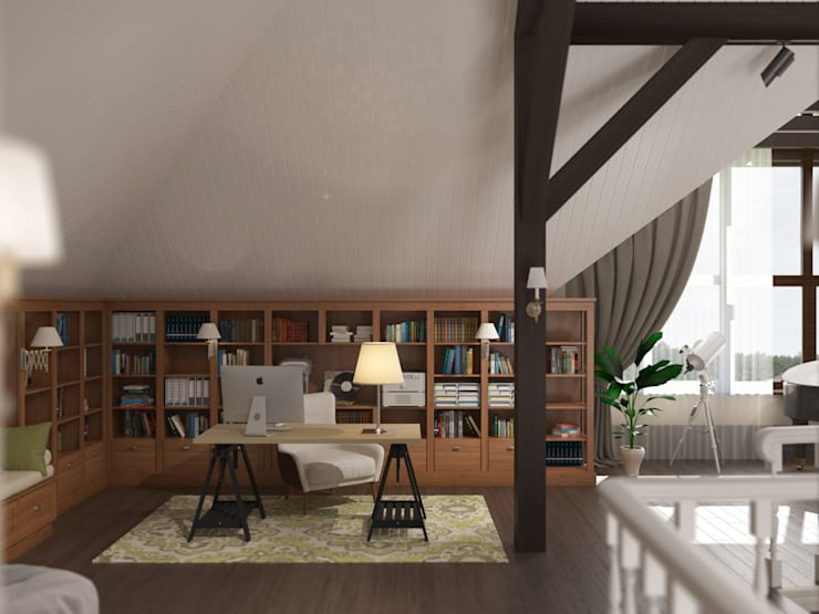 Bureau de style  par Brama Architects