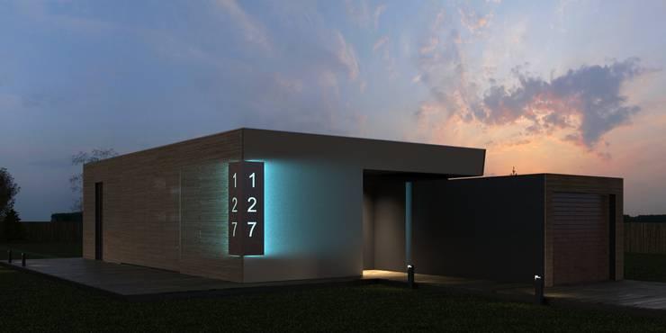 2.BOX house: Дома в . Автор – Мастерская Grynevich Dmitriy