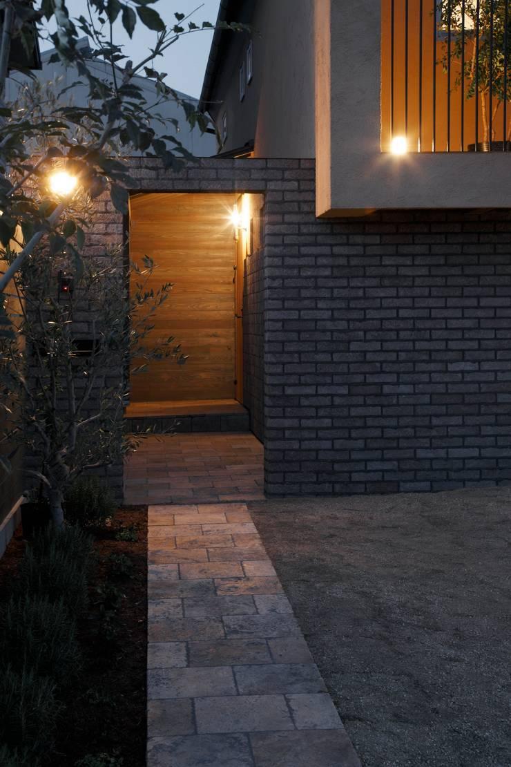 House in Kunimidai: Mimasis Design/ミメイシス デザインが手掛けた家です。