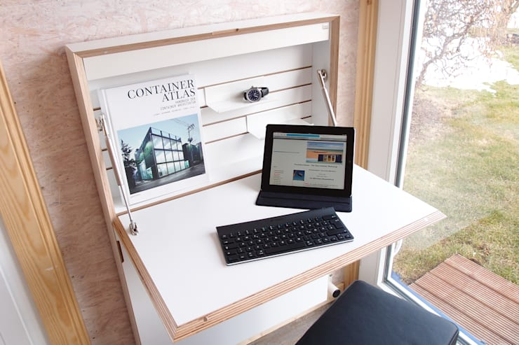 Bureau de style de style Minimaliste par Stefan Brandt - solare Luftheizsysteme und Warmuftkollektoren