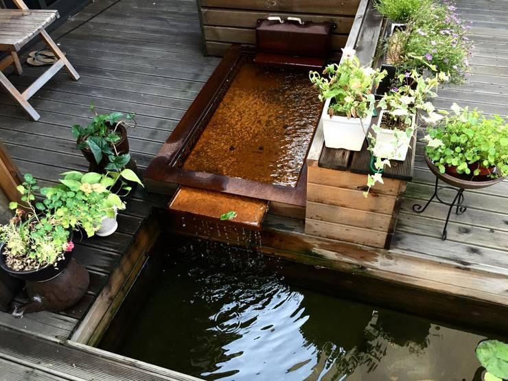 modern Garden by 비온후풍경 ㅣ J2H Architects