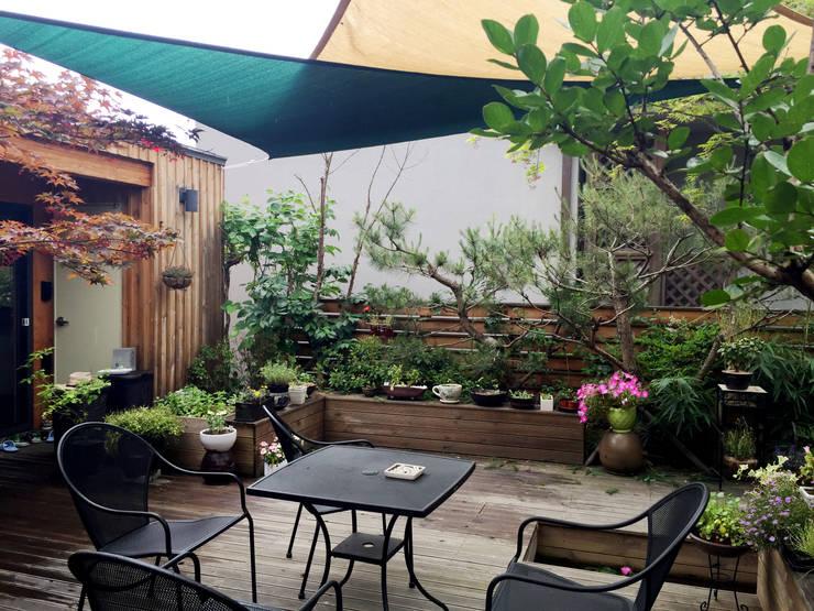 Garden by 비온후풍경 ㅣ J2H Architects