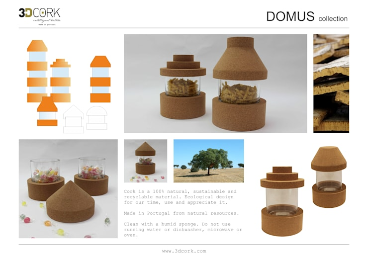 Domus: Casa  por 3DCORK