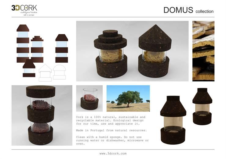 Domus Black: Casa  por 3DCORK