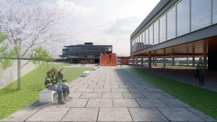 Empreendimento Corporativo | SC 401: Edifícios comerciais  por TORQUATOREGIS Arquitetos