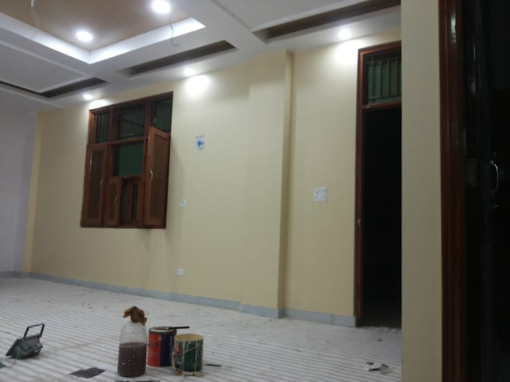 Interior Painting WOrk:  Corridor & hallway by Quik Solution