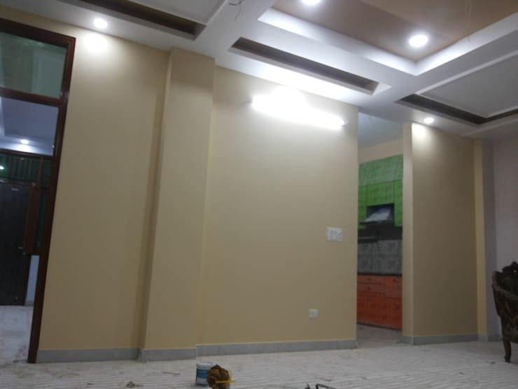 Interior Painting WOrk: asian Dining room by Quik Solution