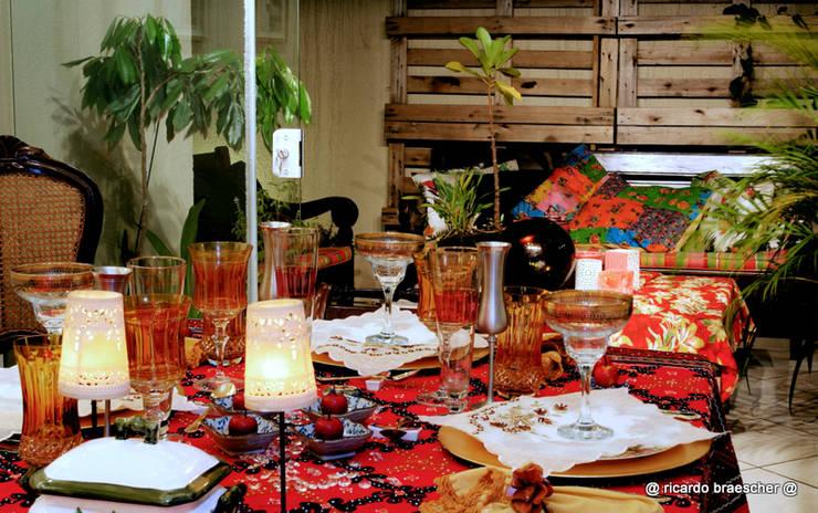Projeto Arq. Gustavo Camargo: Salas de jantar  por BRAESCHER FOTOGRAFIA,Clássico