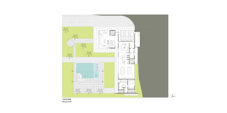 casa hc: Paredes  por grupo pr | arquitetura e design
