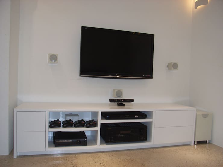 Bespoke Tv And Av Unit Media Room By Style Within
